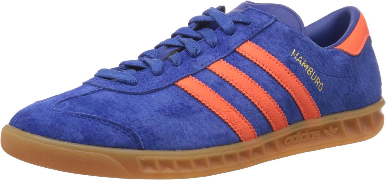 adidas Mens Hamburg Dublin City Series Trainers Royal Blue/Orange ...