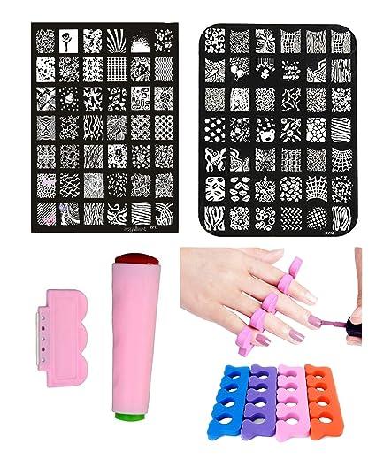 Buy New Nail Art Image Printing Plate Polish Stamping Template Diy