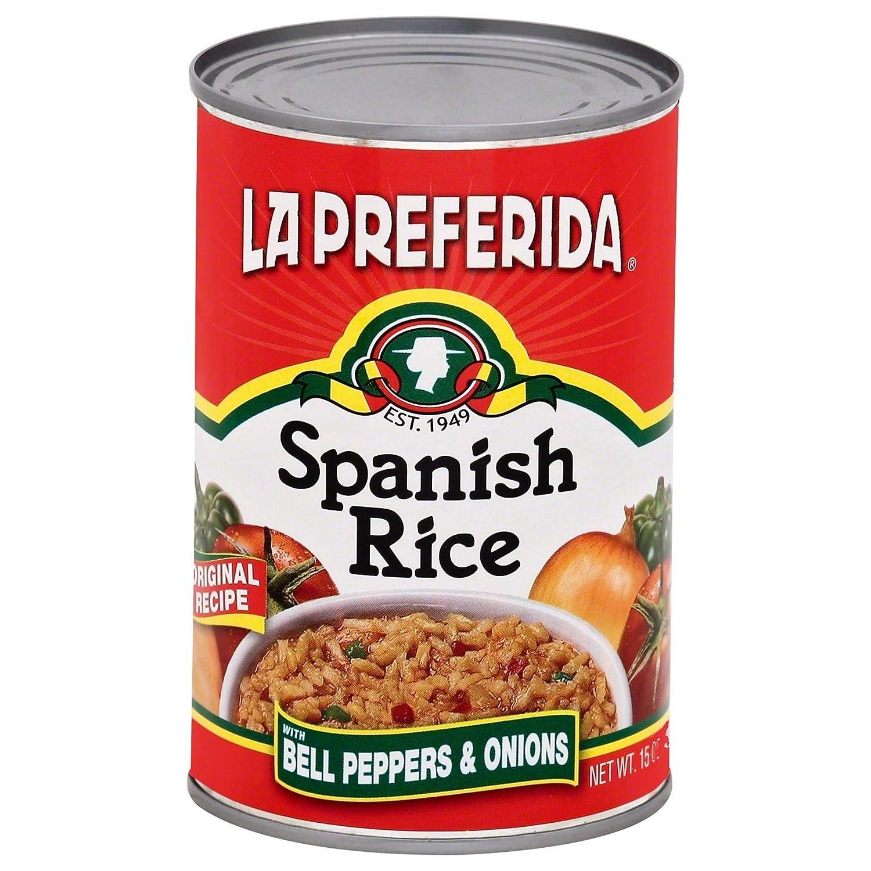 La Preferida Canned Spanish Rice, 15 OZ, (Pack - 6)