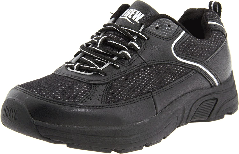 Drew Shoe Men's Aaron Oxford B0045TP9RQ 11 D(M) US|Black/Grey