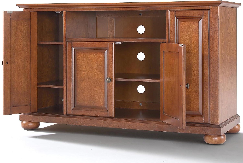 Crosley Furniture Alexandria 48-inch TV Stand – Classic Cherry