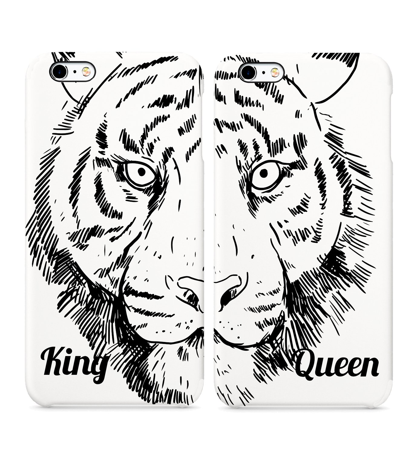 : King Queen Tiger Jungle Animated Hand Drawn Hard