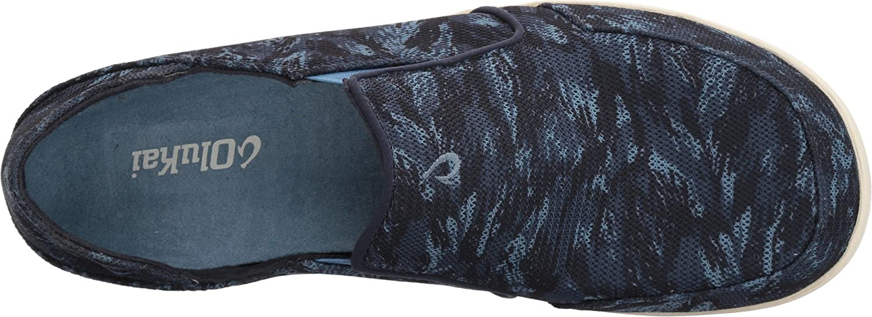 OLUKAI Nohea Mesh Shoe - Men's B073C75HJ9 16 D(M) US Trench Blue/Dive Camo