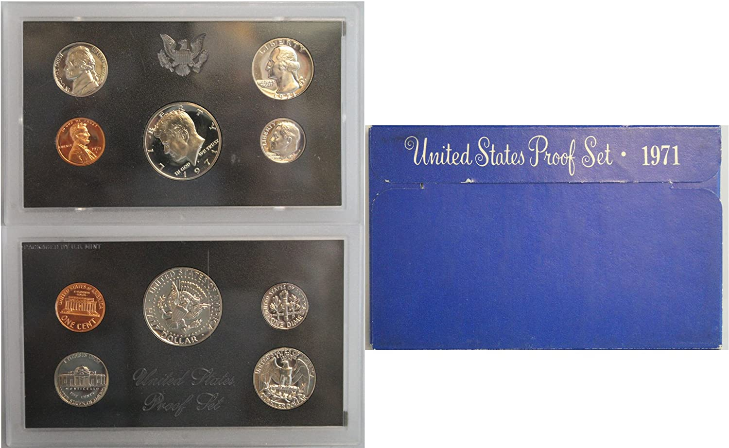 1970 through 1989 Proof Roosevelt Dime Set of 20
