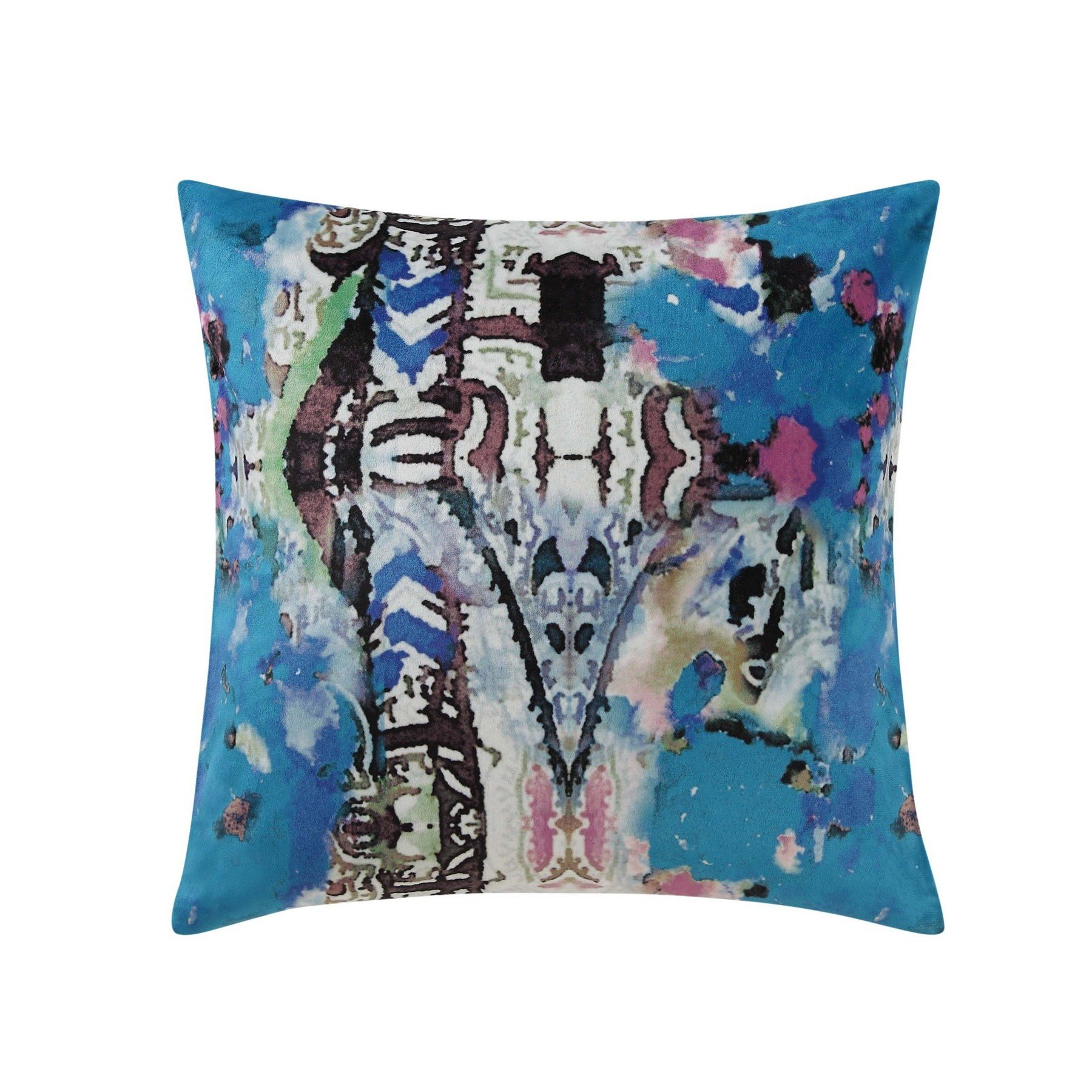 Poetic Wanderlust by Tracy Porter PQW2038DP1-1100 18 Square Printed Decorative Pillow, 18'' x 18'', Iris