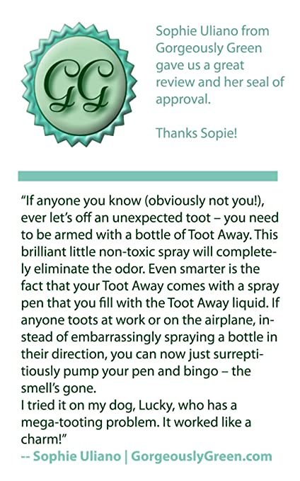 Amazon.com: Toot Away | Tres Pack | unmarked Spray Pen | con ...