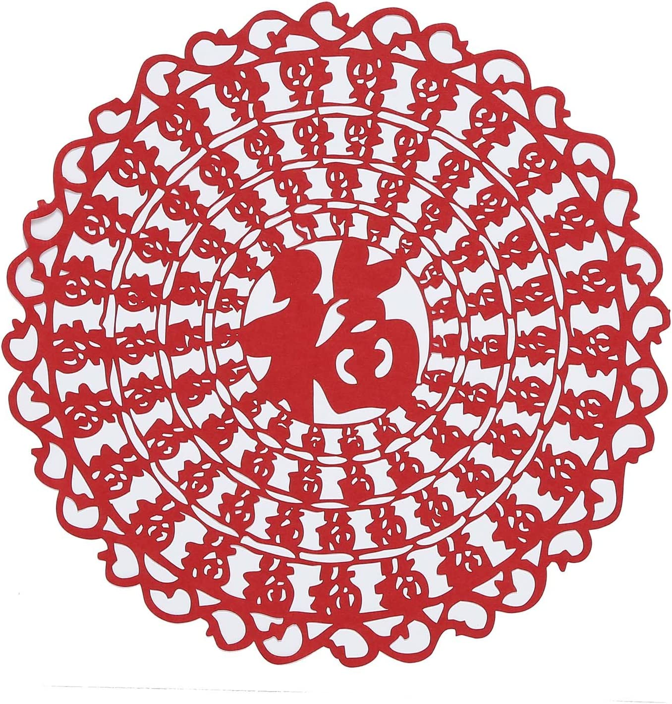 Shayier China s Intangible Cultural Heritage Chinese Handmade Paper-Cut Zodiac