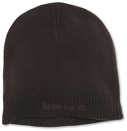 8dc43d096 Timberland Men's Basic Beanie, Brown, One Size: Amazon.co.uk: Clothing