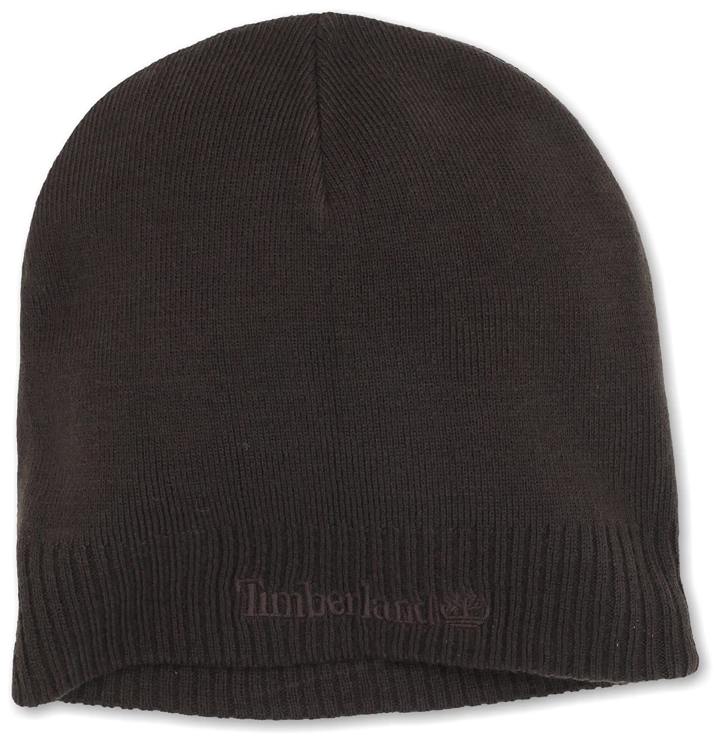 5bc476d8 Timberland Men's Basic Beanie, Brown, One Size at Amazon Men's Clothing  store: Skull Caps
