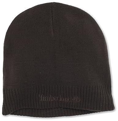 65cf38cffb2b66 Timberland Men's Basic Beanie, Brown, One Size at Amazon Men's Clothing  store: Skull Caps