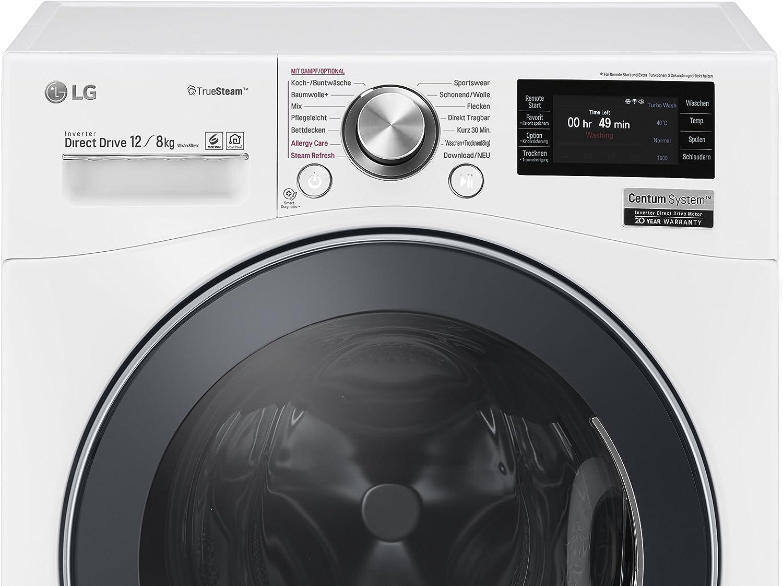 LG F16F9BDH2NH Independiente Carga frontal A Blanco lavadora ...