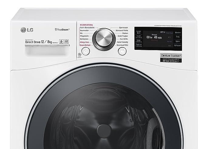 Lg electronics f f bdh nh waschtrockner a kwh jahr