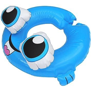 Anillo Fantasía Créatures Marines hinchable, pez azul, talla ...