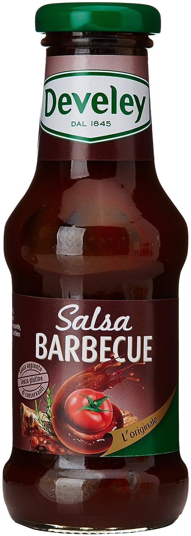DEVELEY té barbacoa original de salsa de gluten de 250 mliter 290 gr: Amazon.es: Alimentación y bebidas