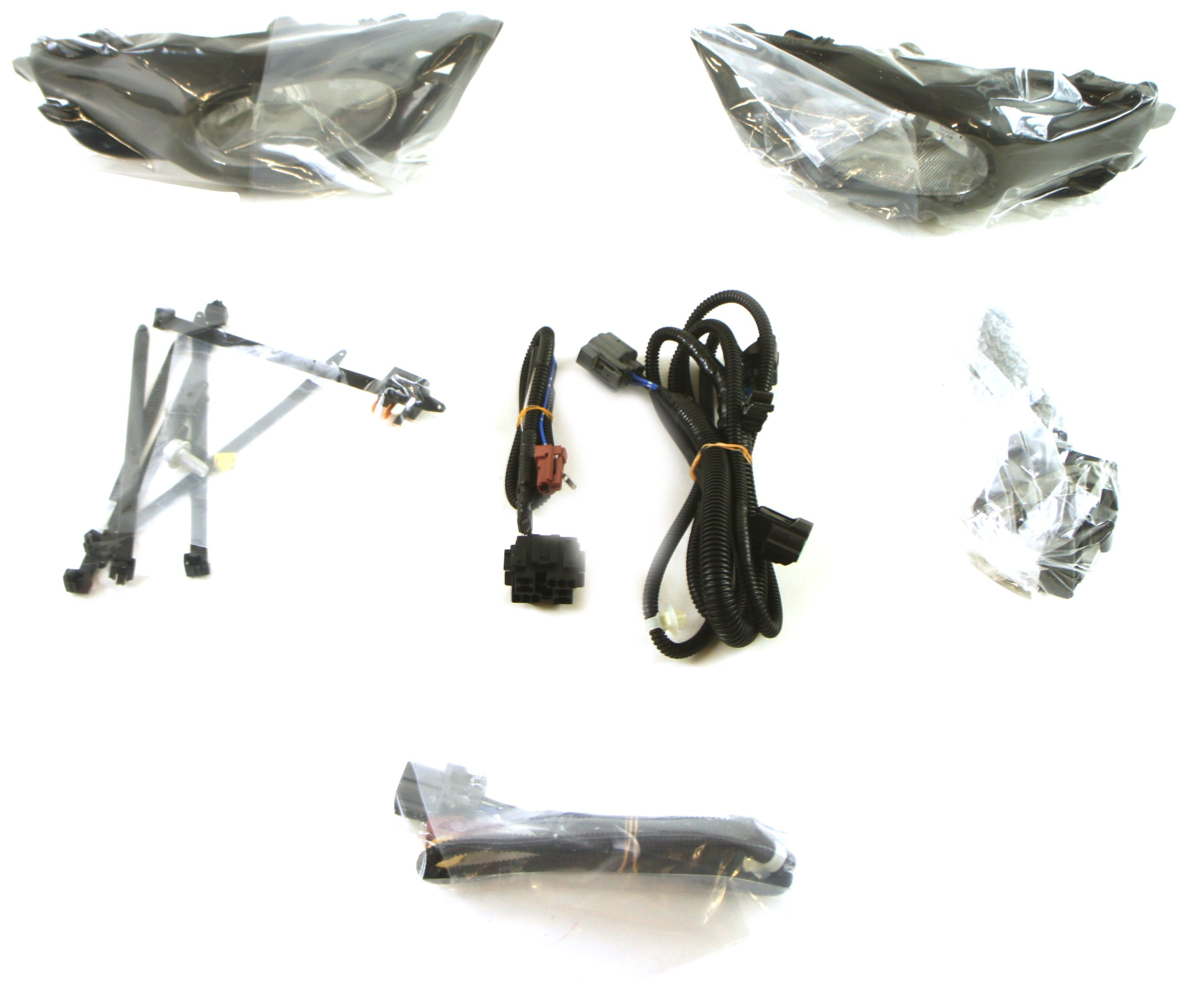 Genuine Honda Parts 08V31-SNA-100D Fog Light Replacement Set
