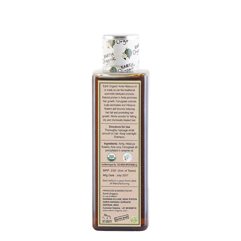 Buy earth organic amla hibiscus hair oil 100 ml online at low prices buy earth organic amla hibiscus hair oil 100 ml online at low prices in india amazon izmirmasajfo