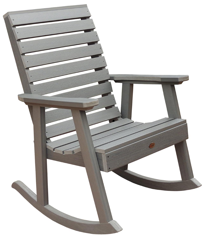 Amazon Highwood Weatherly Rocking Chair Coastal Teak