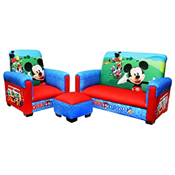 amazon com disney 3 piece juvenile set mickey mouse club house rh amazon com