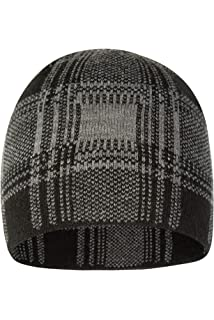 c933353d63c Mountain Warehouse Mens Checker Beanie - Stylish Hat