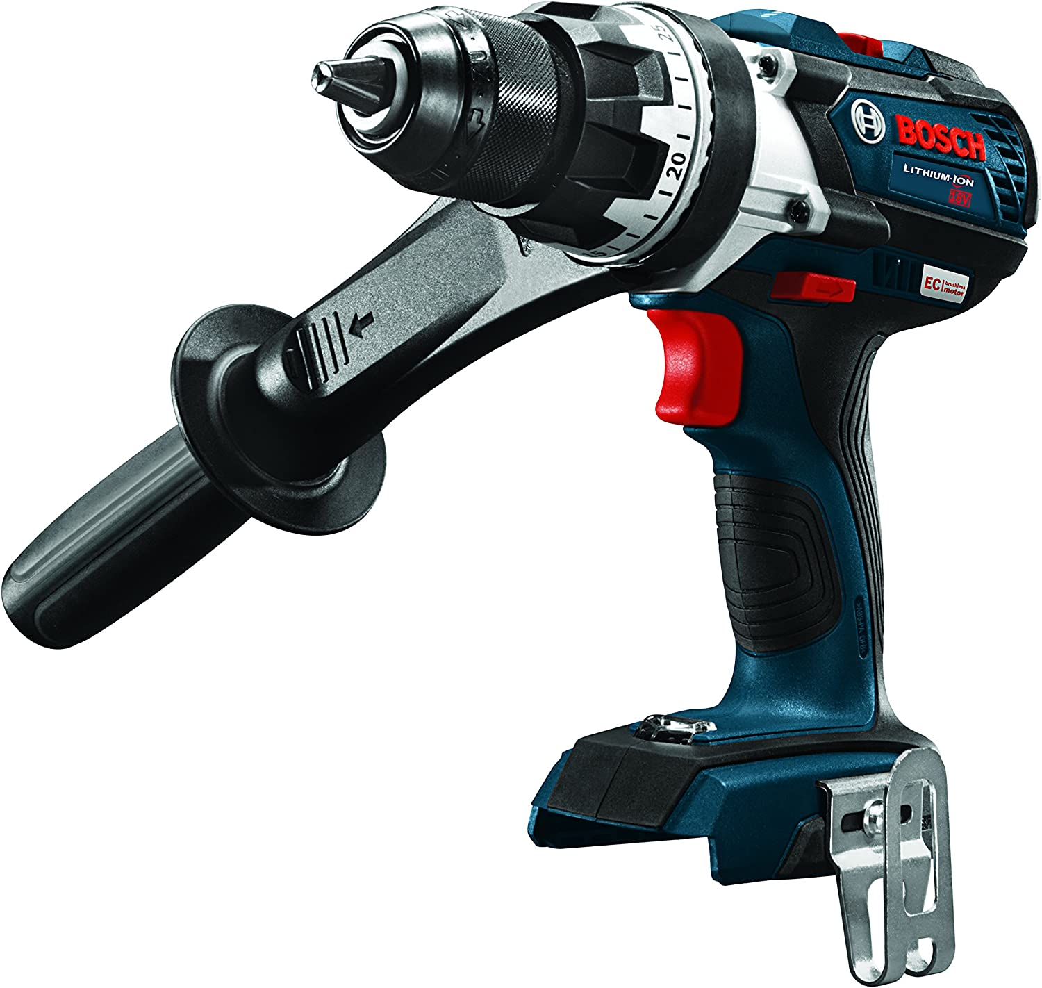 Bosch DDH183B Bare-Tool 18V Lithium-Ion Brushless Brute Tough 1 2 Drill Driver