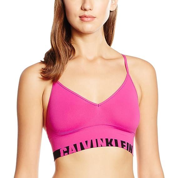 dc3275f9088a4e Calvin Klein Women Seamless Logo Bralette