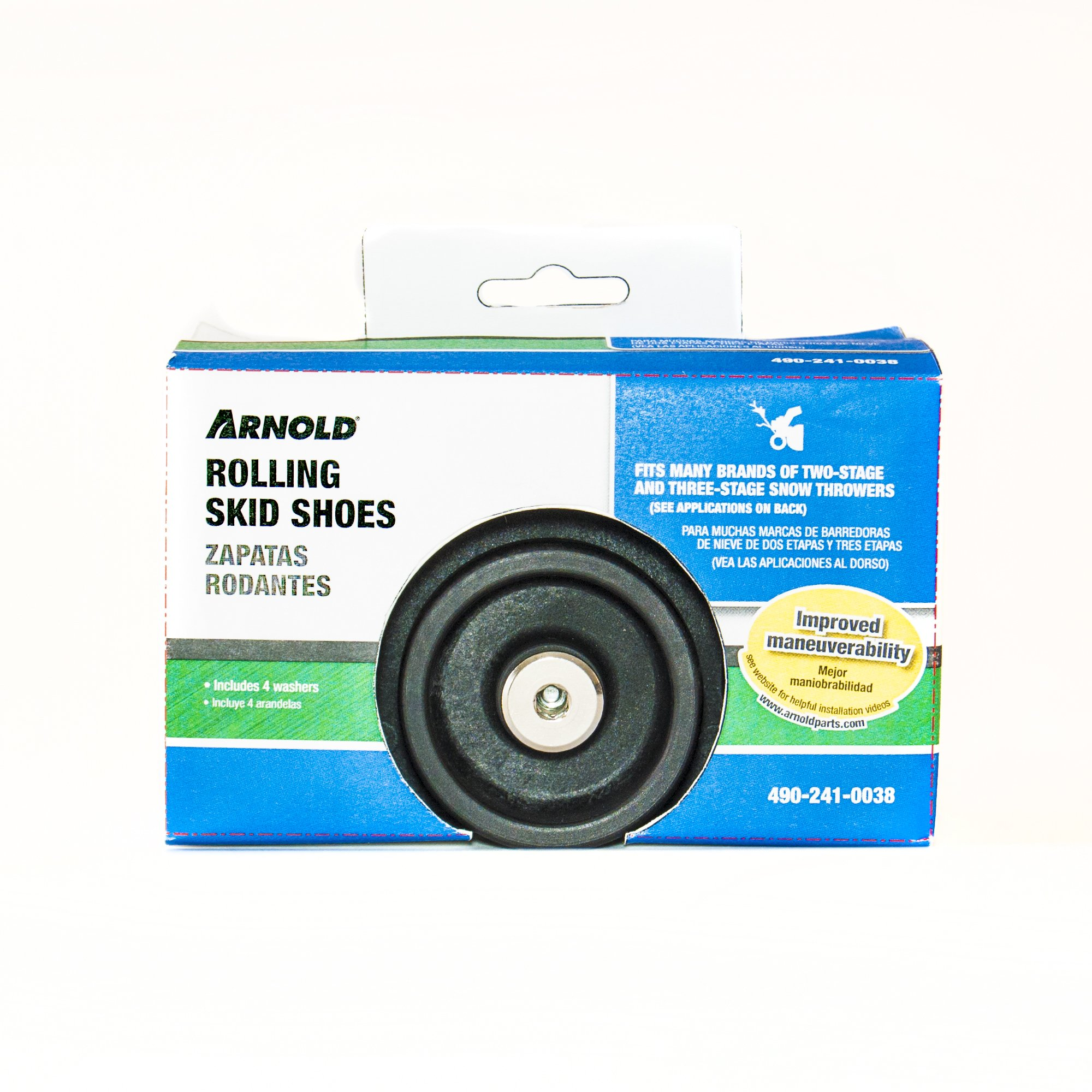 Arnold Universal Roller Skid Snow Thrower Shoes by Arnold (Image #5)