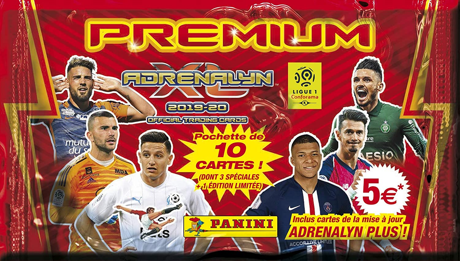 Panini- 1 Funda Premium ADRENALYN XL Liga 1 2019-20, 2526-045 ...