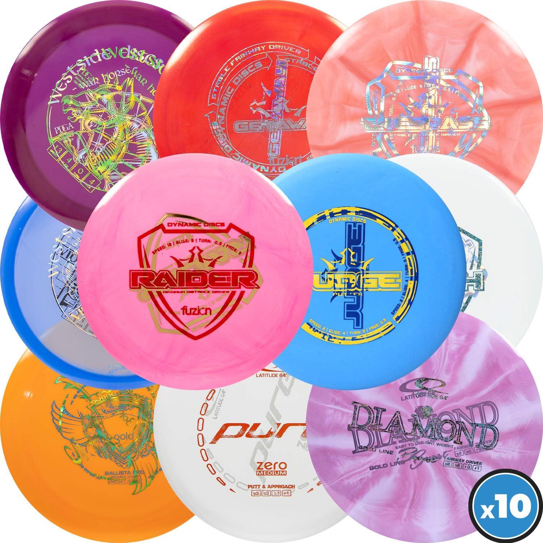 Dynamic Discs | Latitude 64 | Westside Discs Misprint Pack | Disc Golf Starter Pack | Frisbee Golf Discs | Disc Golf Driver | Disc Golf Midrange | Disc Golf Putter