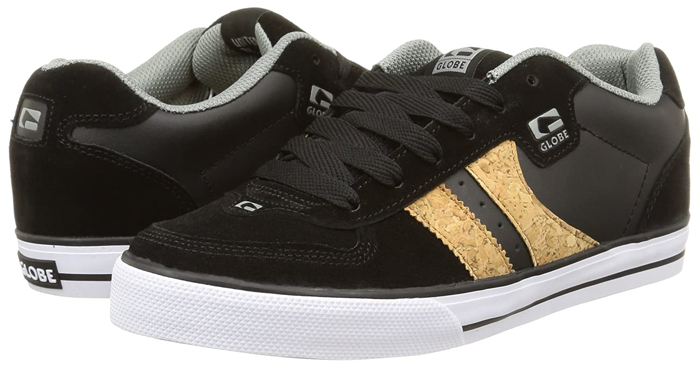 3afd80bf8 Globe Encore 2 Skateboard Skate Shoes Trainers - Black / - UK 7 / US ...