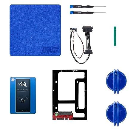OWC 3 G SSD y Disco Duro DIY Complete Bundle Kit de actualización ...
