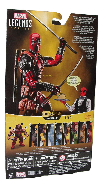 Extrêmement Amazon.com: Marvel Legends X-Men DEADPOOL 6 Inch Action Figure BAF  LD59