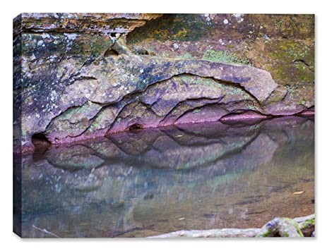 Amazon.com : Purple Rock Reflections-Outdoor Wall Art - Weatherprint ...