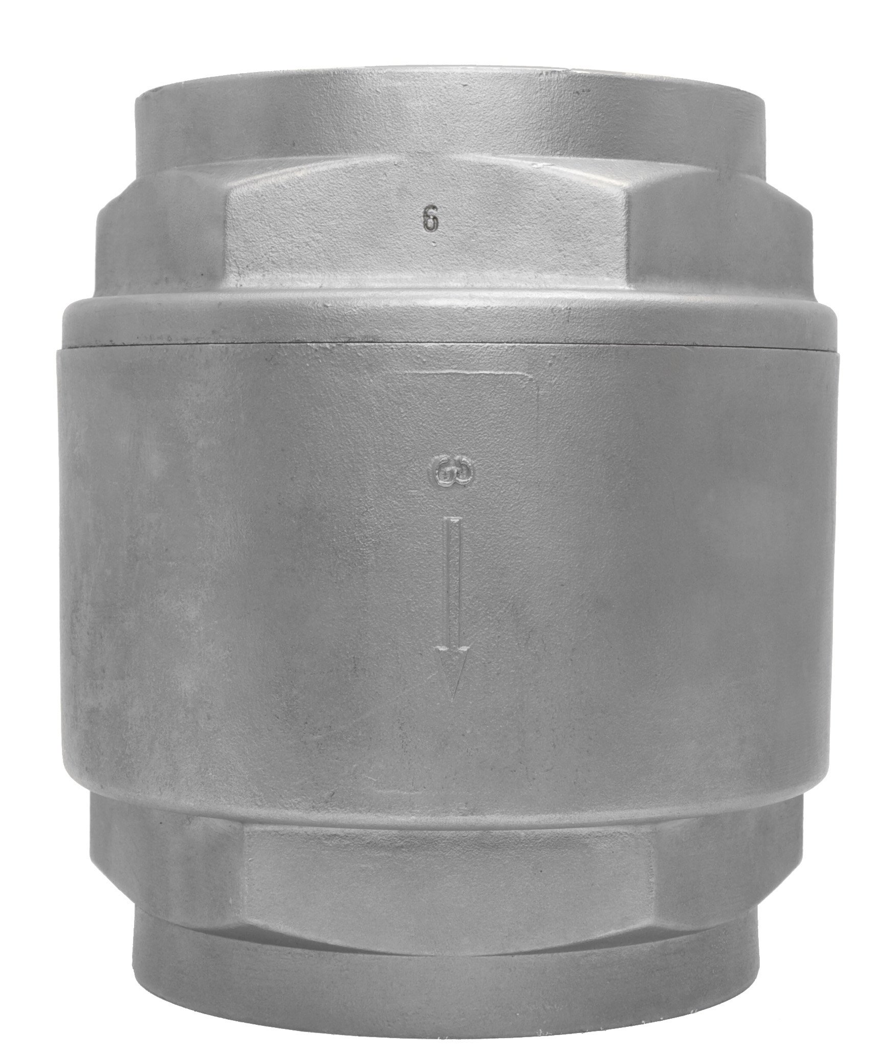 3'' Stainless Steel (316) in Line Spring Check Valve - 150 LB Class
