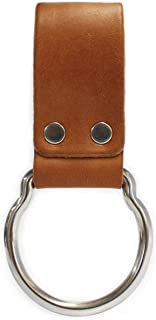product image for American Bench Craft Leather D-Cell Flashlight Belt Holder fits MAGLITE (Tan)