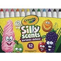 Crayola Silly Scents Kalın Keçeli Boya Kalemi, 12'li