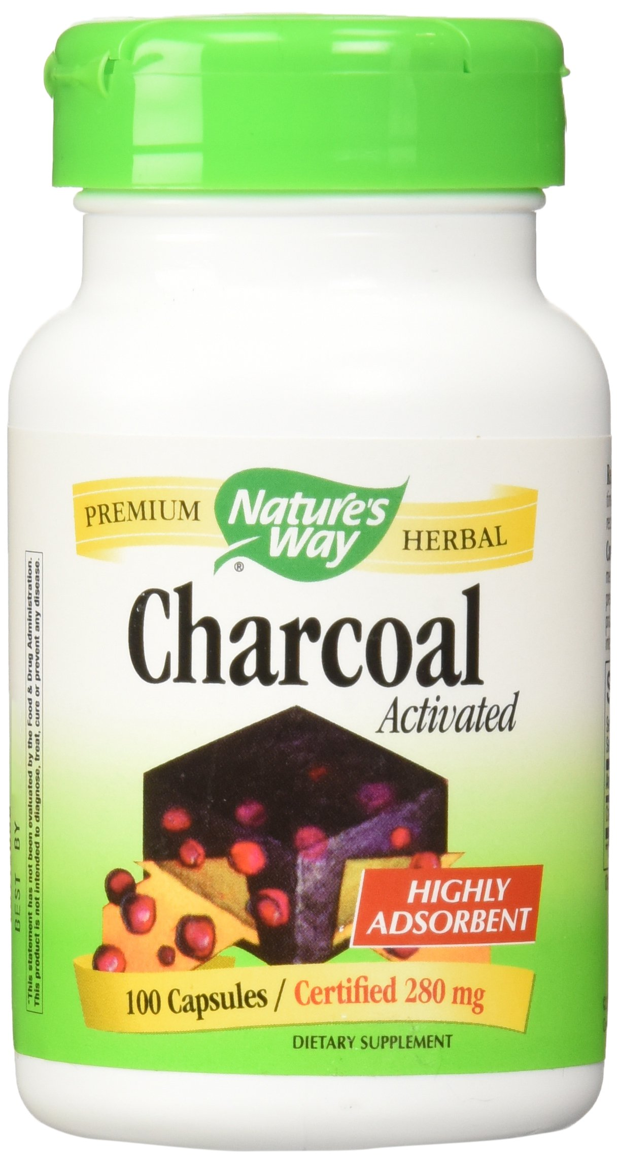Charcoal - Activated 100 Capsules X 2