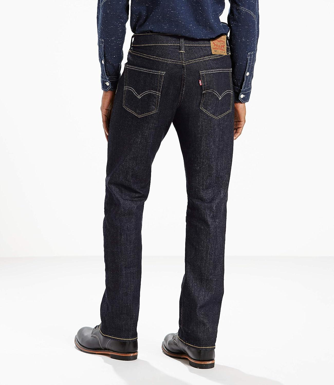 Levis Mens 505 Regular Fit Jean,Tumbled Rigid,38x34