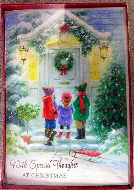 Company Christmas Cards.Amazon Com American Balloon Company Christmas Cards
