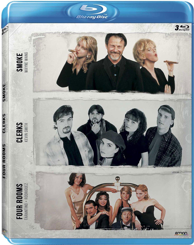 Pack: Wang + Smith + Tarantino/Rodríguez Smoke + Clerks + Four Rooms Blu-ray: Amazon.es: Harvey Keitel, Brian O´Halloran, Bruce Willis, Paul Auster Wayne Wang, Kevin Smith, Quentin Tarantino, Harvey Keitel, Brian O´Halloran: