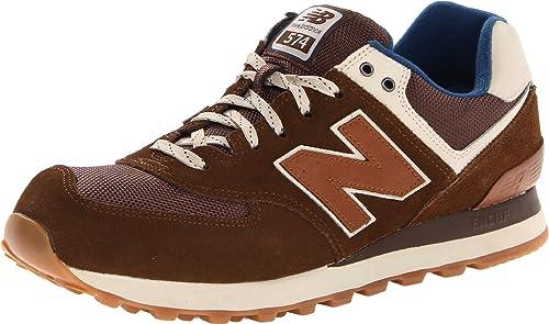 New Balance 574 Herren Sneaker Braun: Amazon.de: Schuhe ...
