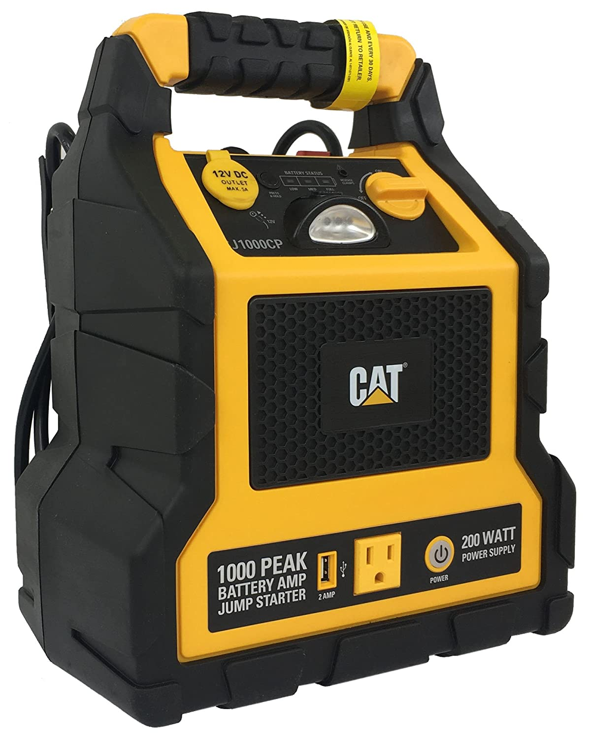 3 In 1 Cat Professional Power Station With Jump Re Charging A Car Battery Computer Supply Starter Compressor Garden Outdoor
