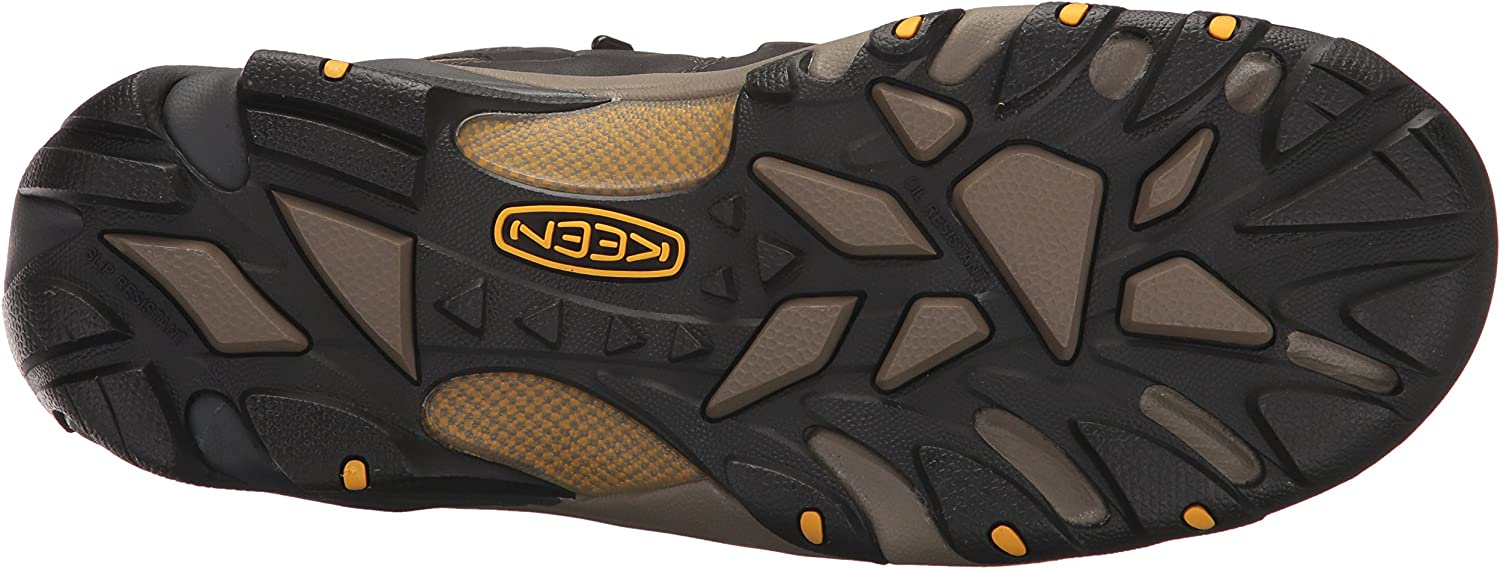 KEEN Utility Mens Lansing Mid Wp Industrial Boot