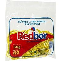 Elastico Amarelo Super 50g - Unidade, Red Bor, RSA04, Amarela