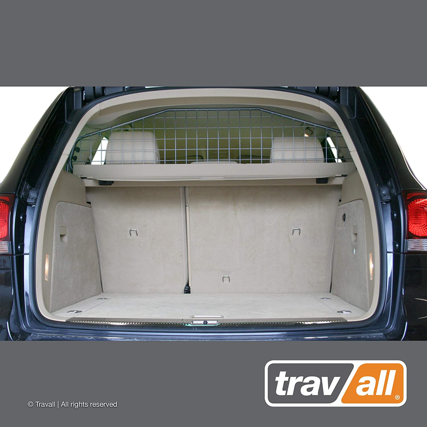 Travall Guard Compatible with Volkswagen Touareg 2002-2010 TDG1197 – Rattle-Free Steel Pet Barrier