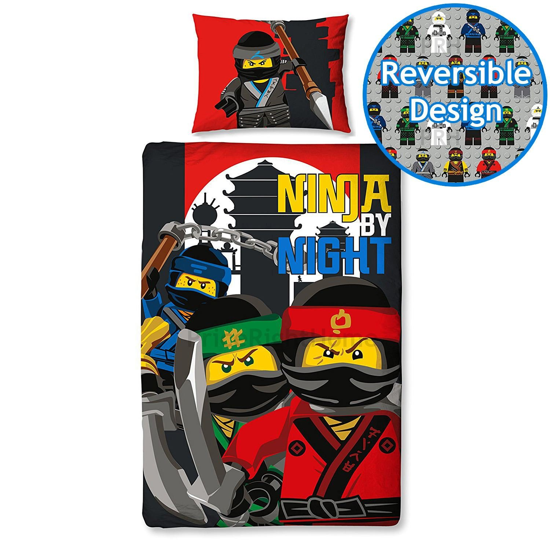 The Lego Ninjago Movie 'Urban' Single Panel Duvet Cover Bed Set