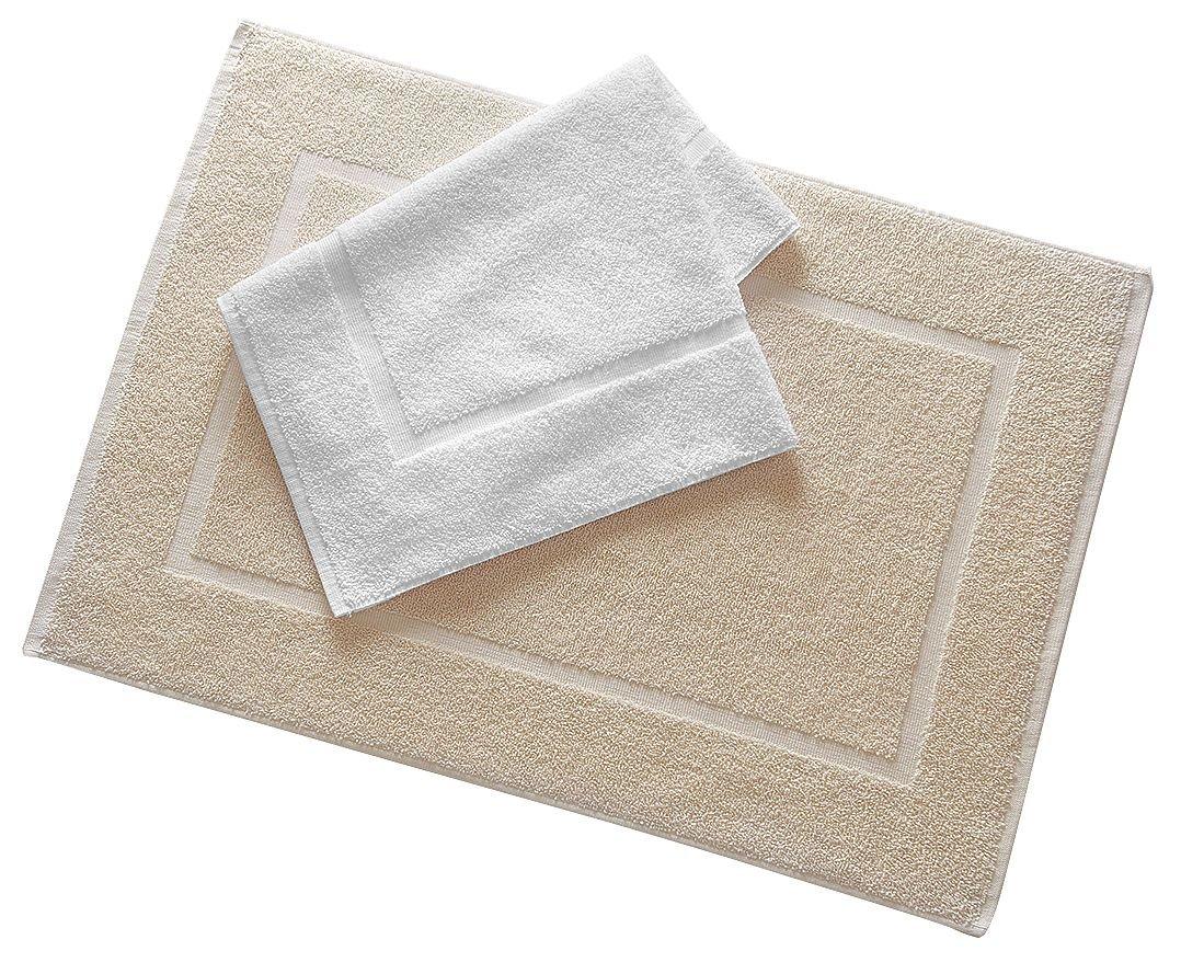 Bath Mat, White, 20x34, PK12