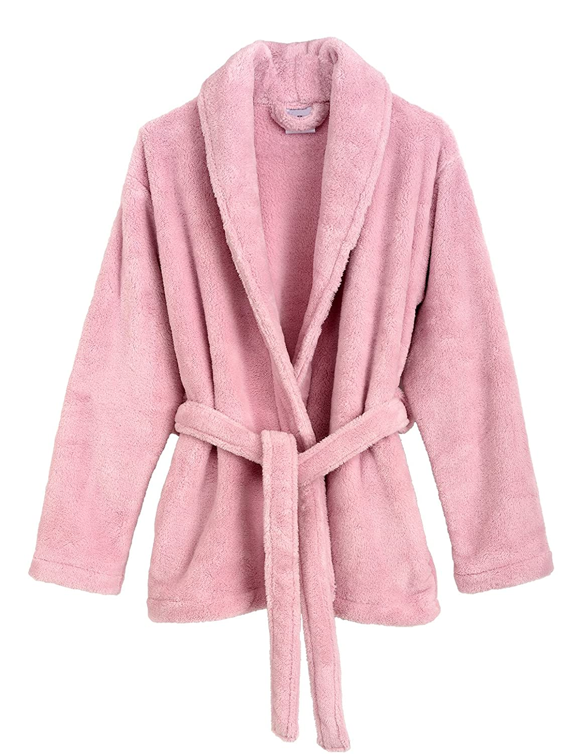 TowelSelections Women s Bed Jacket Fleece Cardigan Cuddly Robe Made in  Turkey at Amazon Women s Clothing store  1a79ff37b