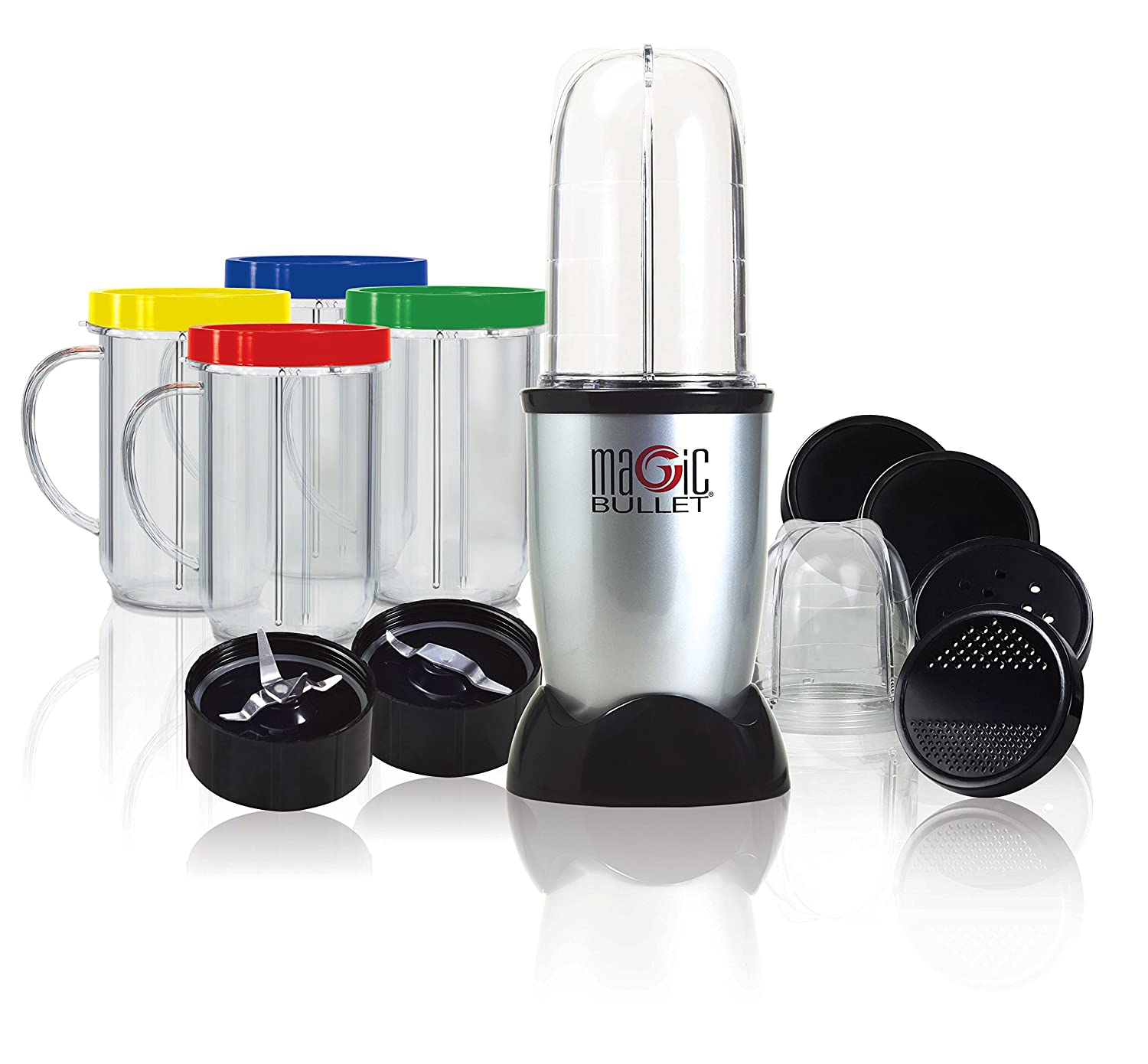 Amazon.com: Magic Bullet MBR 1701 17 Piece Express Mixing Set: Electric  Countertop Blenders: Kitchen U0026 Dining