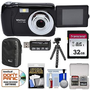 Amazon.com: Vivitar ViviCam vxx14 Selfie cámara digital ...