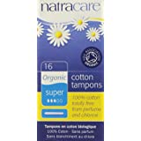 Natracare Tampons Super with Applicator 16 Ct (Pack of 3)